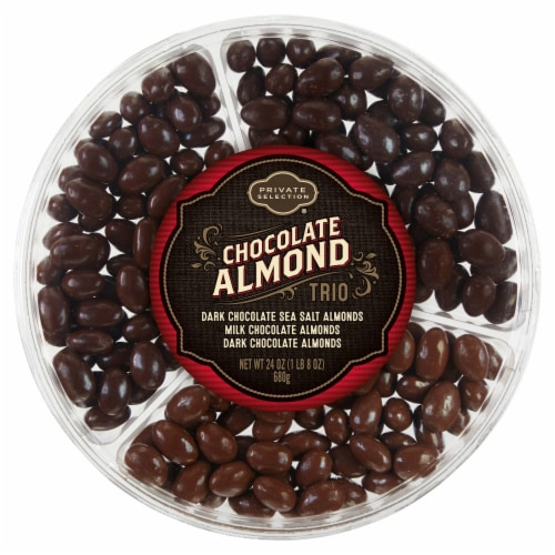 Private Selection® Chocolate Almond Trio Perspective: front