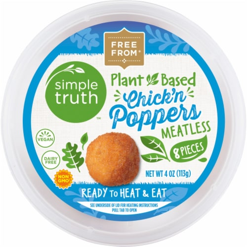 Simple Truth™ Plant-Based Chick'n Poppers Perspective: front