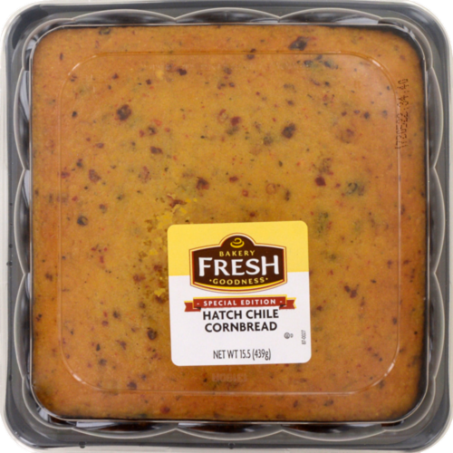 Bakery Fresh Goodness Special Edition Hatch Chile Cornbread Perspective: front