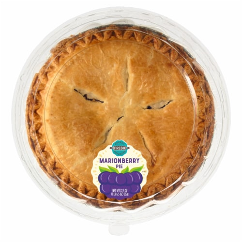Bakery Fresh Goodness Marionberry Pie Perspective: front