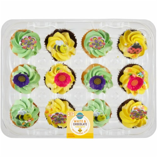 Bakery Fresh Goodness Spring Cupcakes - Assorted Perspective: front