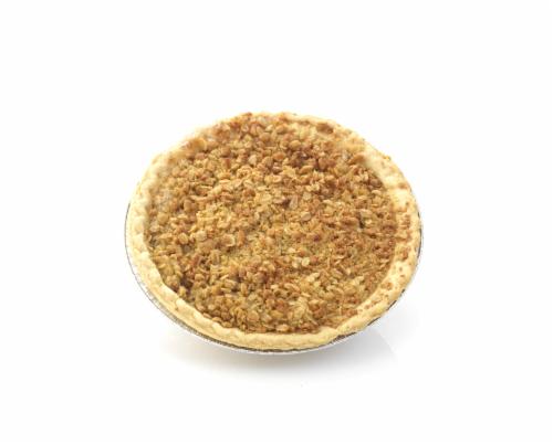 Private Selection Honeycrisp Apple Streusel Pie Half Perspective: front