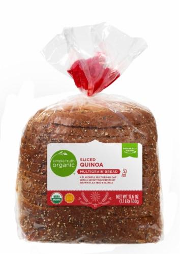 Simple Truth Organic™ Sliced Quinoa Multigrain Bread Perspective: front