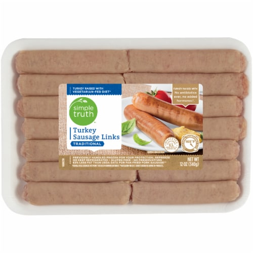 Simple Truth™ Traditional Turkey Sausage Links Perspective: front