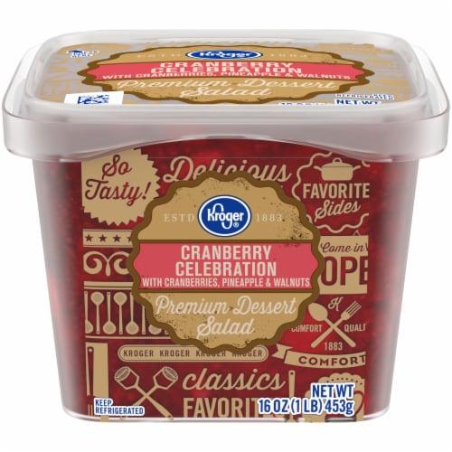 Kroger® Cranberry Celebration Dessert Salad Perspective: front