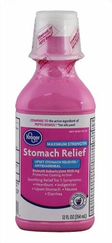 Kroger® Maximum Strength Stomach Relief Liquid Perspective: front