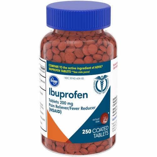 Kroger® Ibuprofen Tablets 200mg Perspective: front