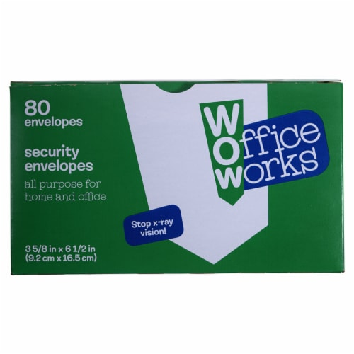 Office Works Security Envelopes Perspective: front