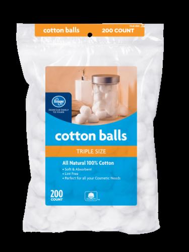 Kroger® Triple Size Cotton Balls Perspective: front