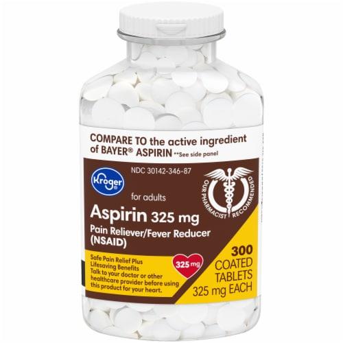 Kroger® Aspirin Tablets Perspective: front