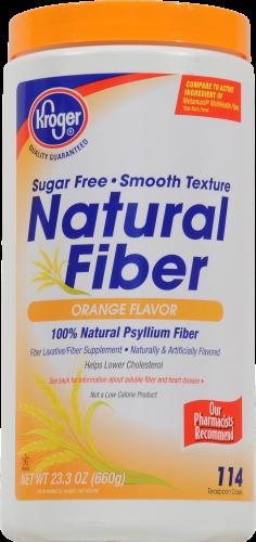 Kroger® Orange Flavor Natural Fiber Perspective: front