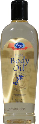 Kroger® Light Body Oil Perspective: front