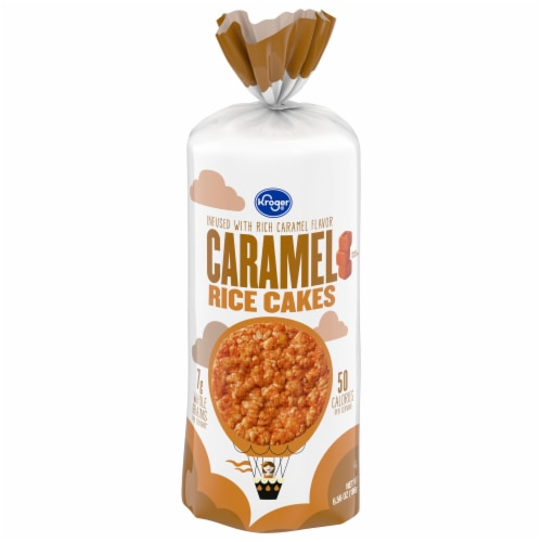 Kroger® Caramel Rice Cakes Perspective: front
