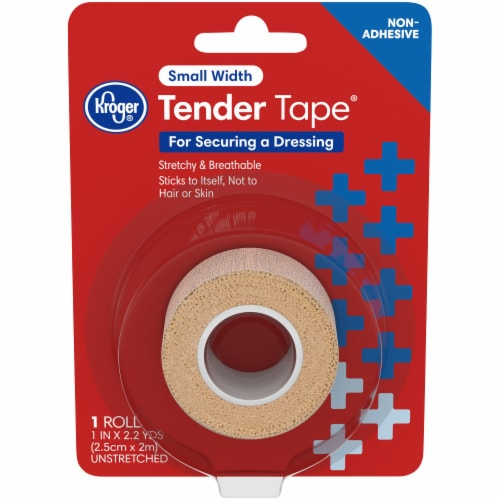 Kroger® Tender Tape® Small Width Dressing Tape Perspective: front