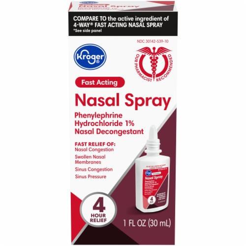 Kroger® Fast Acting Nasal Spray Perspective: front
