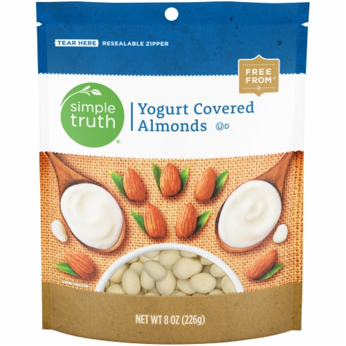 Simple Truth® Yogurt Covered Almonds Perspective: front