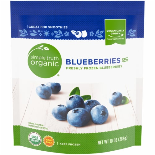 Simple Truth Organic® Frozen Blueberries Perspective: front