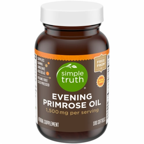 Simple Truth® Evening Primrose Oil Softgels 1500mg Perspective: front