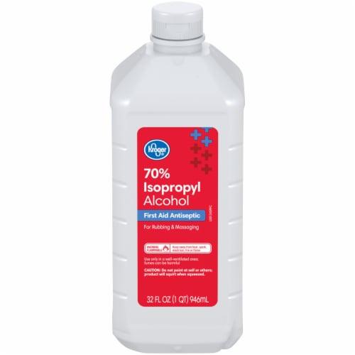 Kroger® Isopropyl 70% Alcohol Perspective: front