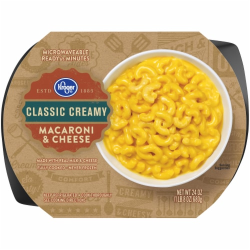 Kroger® Creamy Macaroni & Cheese Perspective: front