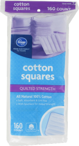 Kroger® Quilted Strength Cotton Squares Perspective: front