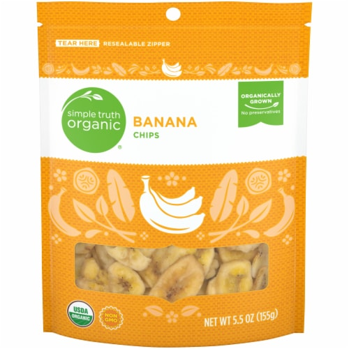 Simple Truth® Organic Banana Chips Perspective: front