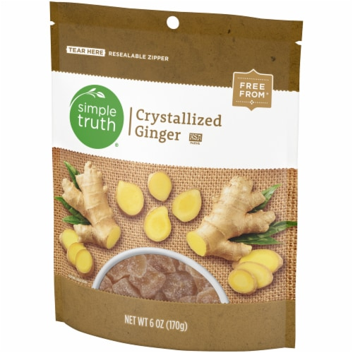 Simple Truth® Crystalized Ginger Perspective: front