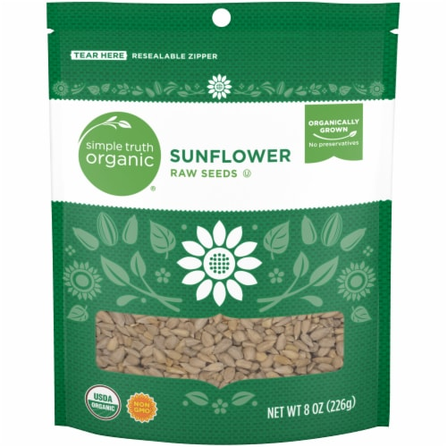 Simple Truth Organic™ Raw Sunflower Seeds Perspective: front