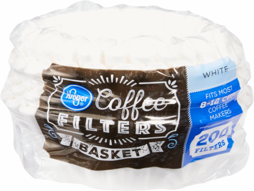 Kroger® Coffee Filters - White Perspective: front