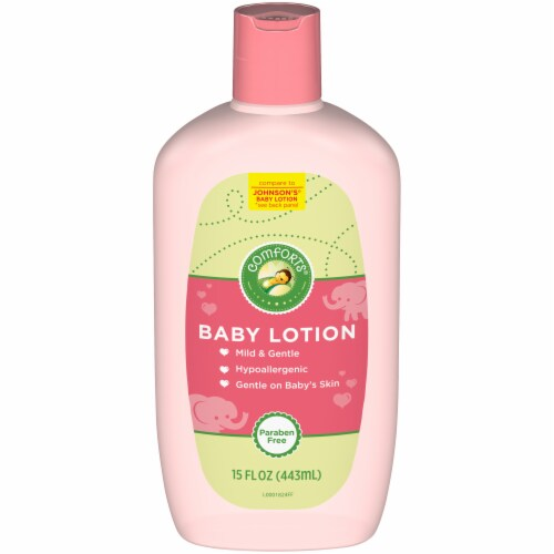 Comforts™ Baby Lotion Perspective: front
