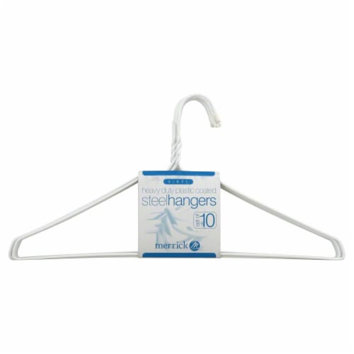 Everyday Living Wire Hanger - White Perspective: front