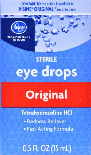 Kroger® Original Relief Eye Drops Perspective: front