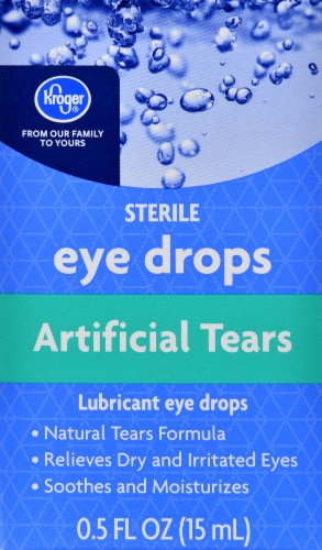 Kroger® Artificial Tears Eye Drops Perspective: front