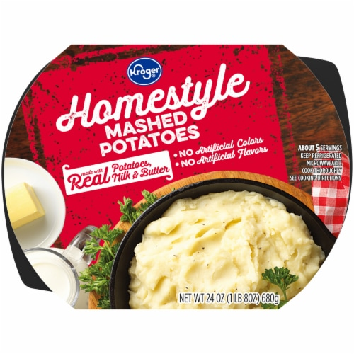 Kroger® Homestyle Mashed Potatoes Perspective: front