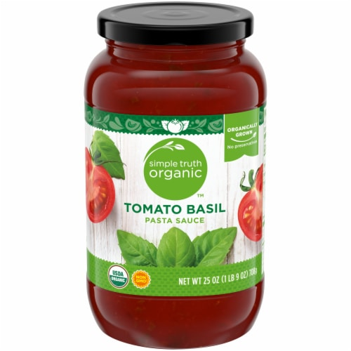 Simple Truth Organic™ Tomato Basil Pasta Sauce Perspective: front