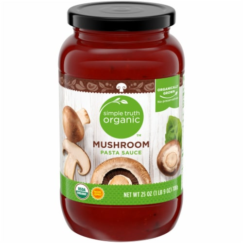 Simple Truth Organic™ Mushroom Pasta Sauce Perspective: front
