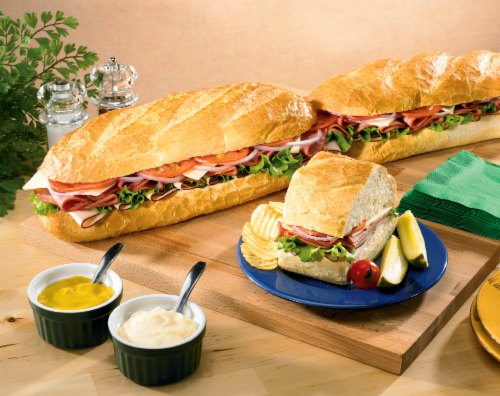 Deli Party Sub (1 Foot) Perspective: front