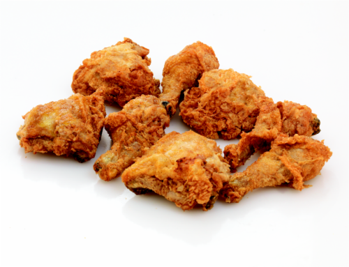 Deli Fresh Hot Fried Chicken 8-Piece (NOT AVAILABLE BEFORE 11:00 am DAILY) Perspective: front