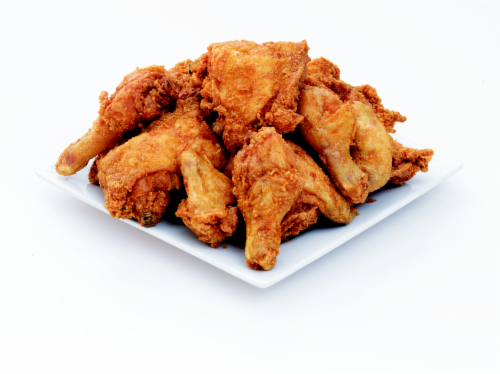 Deli Fresh Hot Fried Chicken 12-piece (NOT AVAILABLE BEFORE 11:00 am DAILY) Perspective: front