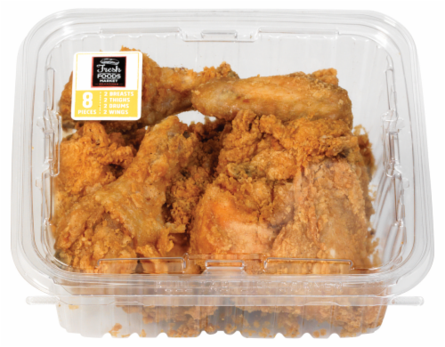 Deli Fresh Fried Chicken Cold Perspective: front