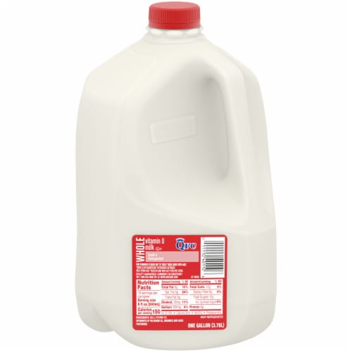 QFC Vitamin D Whole Milk Perspective: front
