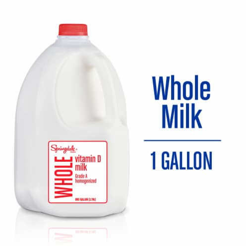 Springdale® Vitamin D Whole Milk Perspective: front