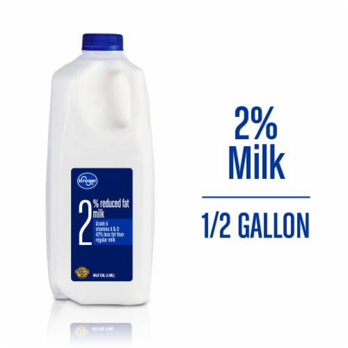 Kroger® 2% Reduced Fat Milk Perspective: front