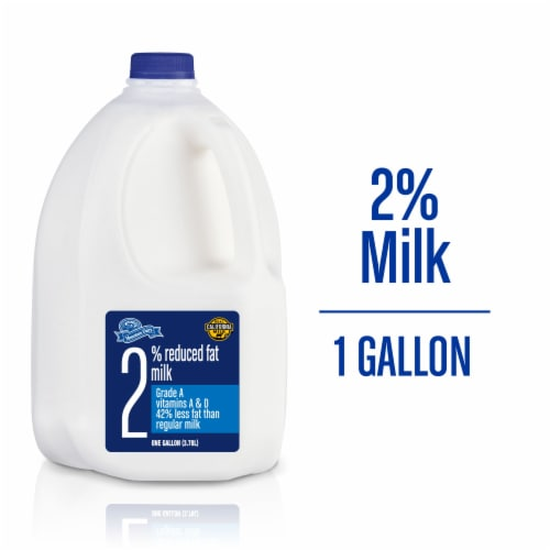 Mountain Dairy 2% Reduced Fat Milk Perspective: front
