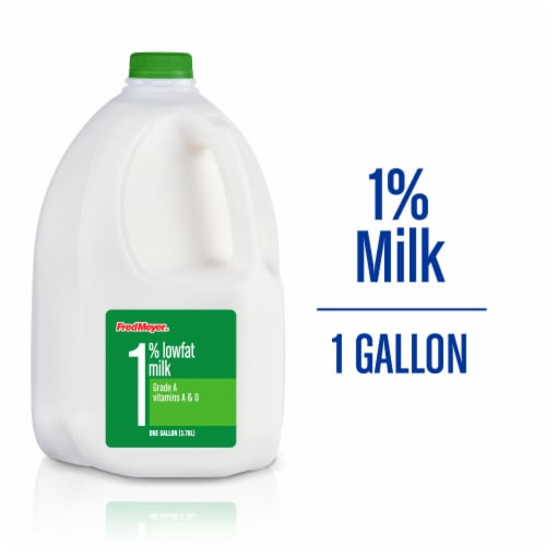 Fred Meyer™ 1% Lowfat Milk Perspective: front
