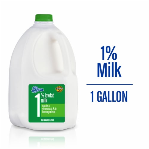 Mountain Dairy™ 1% Lowfat Milk Perspective: front