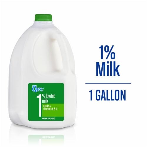 QFC 1% Lowfat Milk Perspective: front