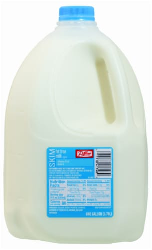 Dillons Fat Free Skim Milk Perspective: front