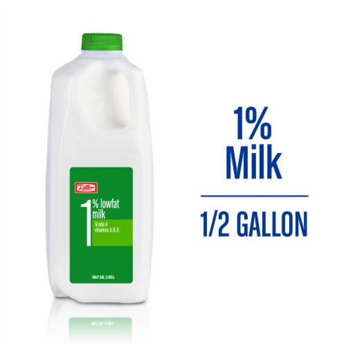 Dillons 1% Lowfat Milk Perspective: front