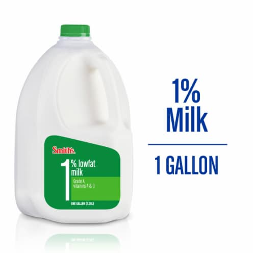 Smith's 1% Lowfat Milk Perspective: front